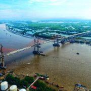 Cầu Bạch Đằng nối Hải Phòng với Quảng Ninh