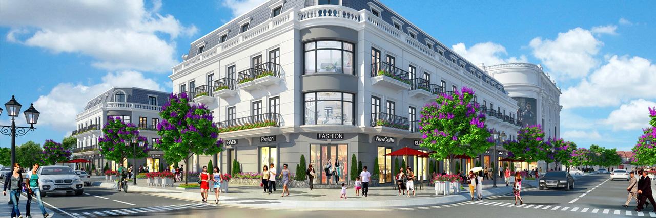 Nhà Phố Thương mại ShopHouse Promexco Móng Cái
