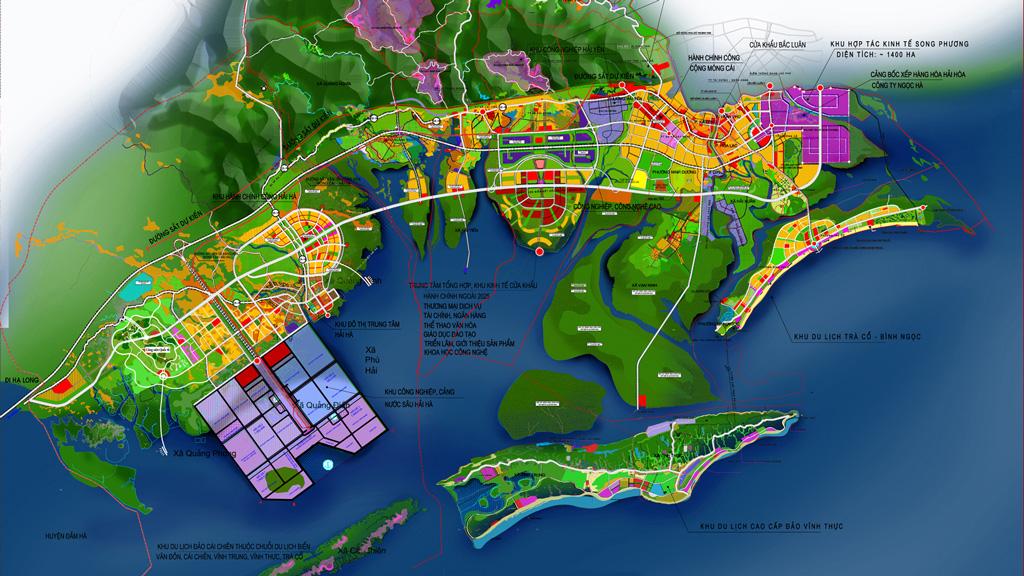 Quy hoạch Dự án Cao tốc Vân Đồn - Móng Cái